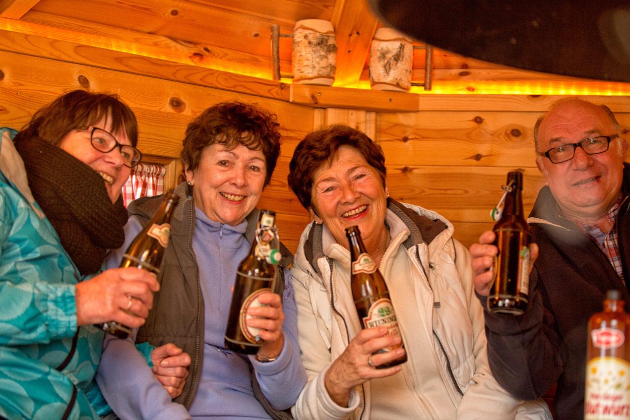 Wicki´s Grillhütte bei der Pension Restner in Inzell